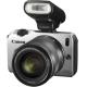 Фотоаппарат Canon EOS M Kit 18-55 IS STM + Speedlite 90EX Silver