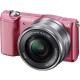 Фотоаппарат Sony Alpha A5000 Kit 16-50 Розовый