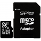 Карта памяти Silicon Power microSDHC Card 32GB Class 10 + SD adapter