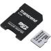 Карта памяти Transcend TS16GUSD300S-A microSDHC Class 10 UHS-I U1 + адаптер на SD
