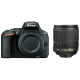 Фотоаппарат Nikon D5500 Kit 18-105mm VR Black